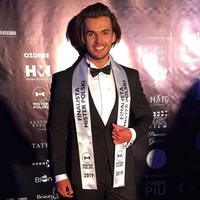 Mateusz Spiż w finale Mister Polski 2019!