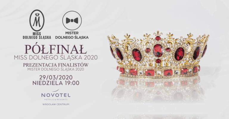 Półfinał Miss Dolnego Śląska już 29/03/2020